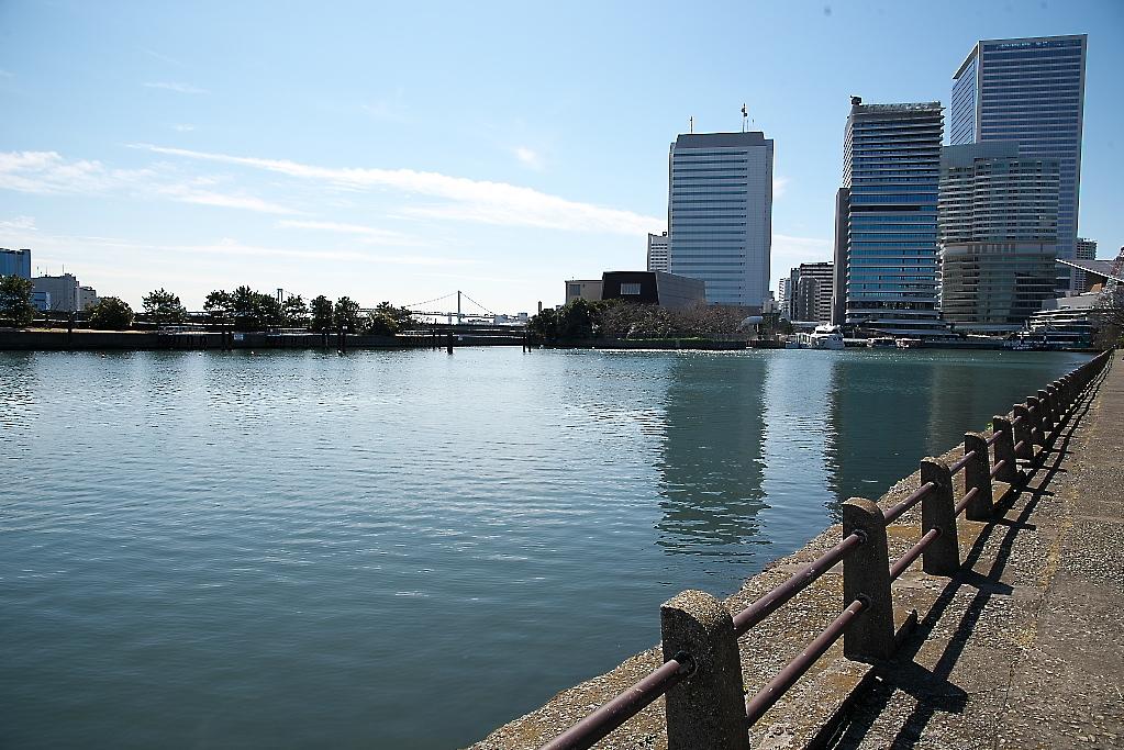 隅田川に面した水面_1