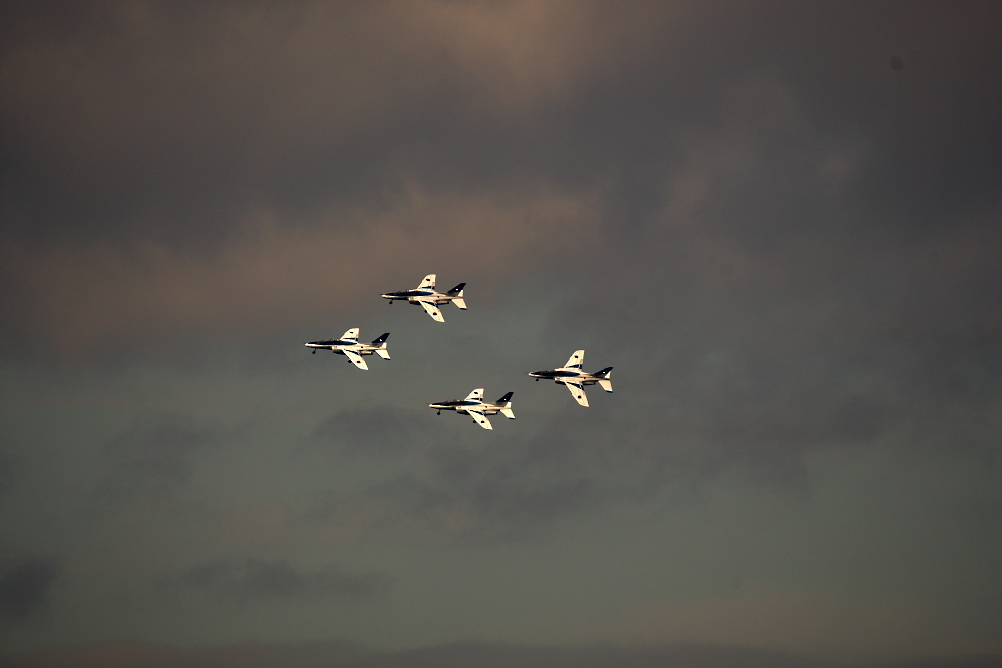 1-4番機による編隊飛行_8