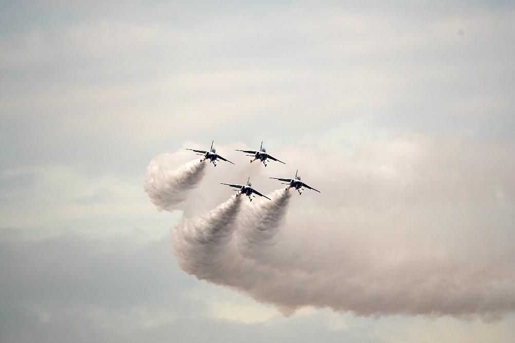 1-4番機のアクロバット飛行(その2)_2