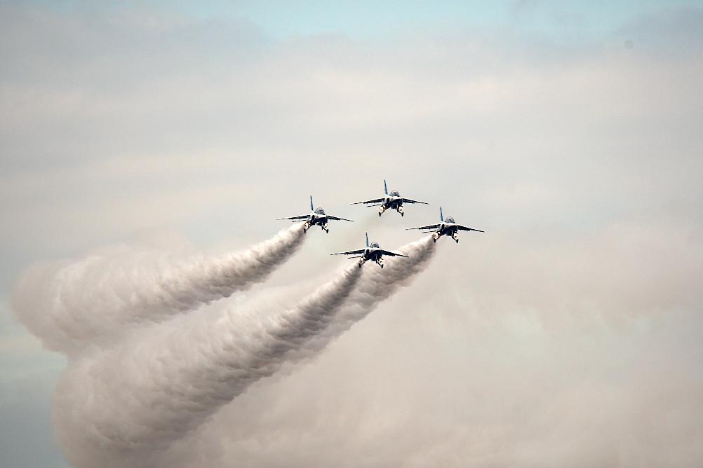 1-4番機のアクロバット飛行(その2)_3