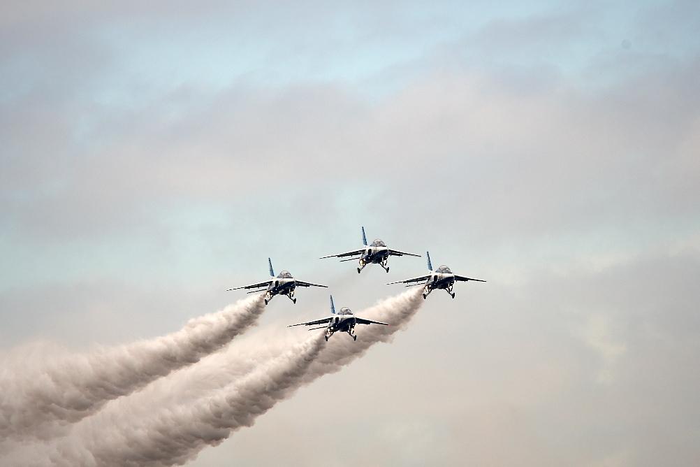 1-4番機のアクロバット飛行(その2)_5