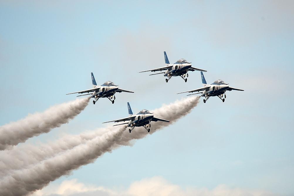 1-4番機のアクロバット飛行(その2)_8