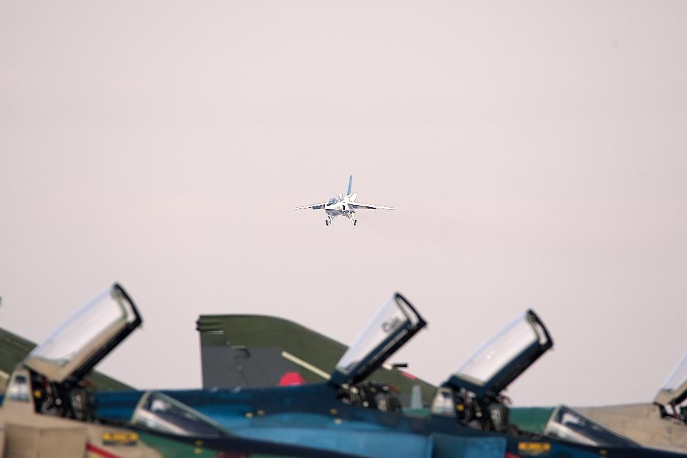 先に1-4番機が着陸態勢に入る_3