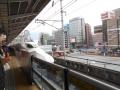 200104帰りの新幹線