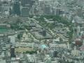 190629四天王寺の伽藍もきれいに見える