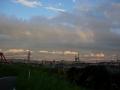 190726向かい風の中、木津川を山城方面へ