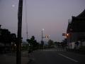 190818仁和寺前。かなり明るくなってきた