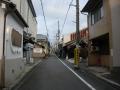 190831船岡山の南側、蘆山寺通を抜ける