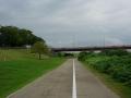 190921背割堤から御幸橋をくぐり、木津川右岸へ