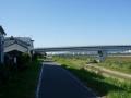 191102魚屋通で伏見横断、桂川に出る