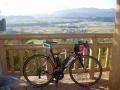 191123紅葉峠展望台から亀岡盆地を望む