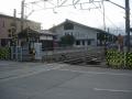200125桜井線の踏切を渡って大神神社へ