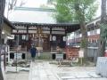 200201安倍晴明神社社殿