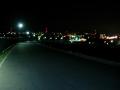 200208精華町市街地の夜景が広がる