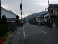 200208人出の増えてきた嵐電嵐山・天竜寺前