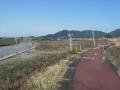 200307よし笛ロードから一般道に入り近江八幡市街へ
