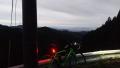 191207日の出前の花背峠ピーク前眺望ポイント