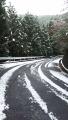 191207路面に雪が増え、峠ピークは断念、引返す