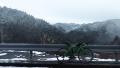 191207周囲の山は雪化粧