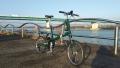191231淀川河川公園から枚方大橋を望む