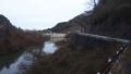 200111国道を避け外周路から天理ダムを望む