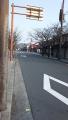 200208閑散とした朝の嵐電嵐山・天竜寺前