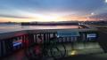 200307夜明けの琵琶湖大橋