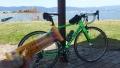 200307湖岸緑地赤野井1のベンチで休憩