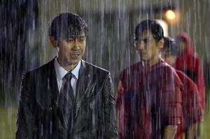 ノーサイド・ゲーム第1回雨中の練習