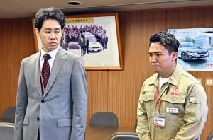 ノーサイド・ゲーム第4回君嶋と佐々