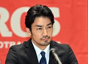 ノーサイド・ゲーム第5回合同記者会見-柴門