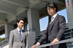 ノーサイド・ゲーム第9回君嶋と話す滝川