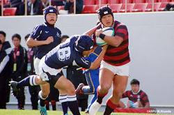 2019高校ラグビー報徳VS山形中央