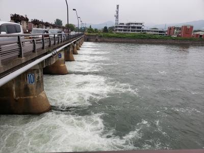 瀬田川洗堰下流