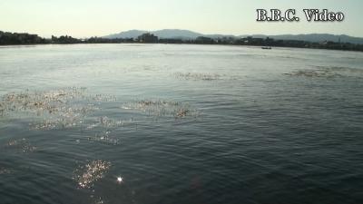 山の日の3連休中日の琵琶湖!! 近江大橋南エリア(YouTubeムービー)