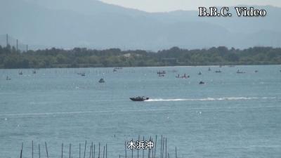 木浜沖の大船団(YouTubeムービー)