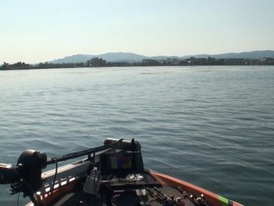 琵琶湖漕艇場沖