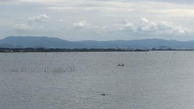 水位急上昇、放水増で迎えた土曜日の琵琶湖(YouTubeムービー)