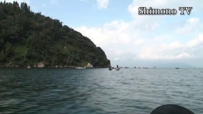 琵琶湖北湖も船団ブーム(YouTubeムービー)