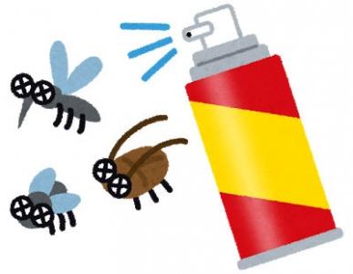 殺虫剤(いらすとや)