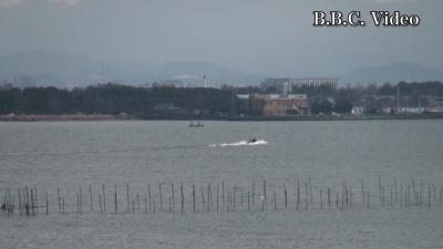 正月3日目もアホ風の琵琶湖(YouTubeムービー)