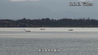 穏やかな日曜日の琵琶湖!! 南湖と北湖 どっちが正解か!?(YouTubeムービー)