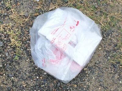 ポイ捨てゴミ