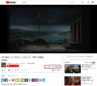 同時視聴者11724人
