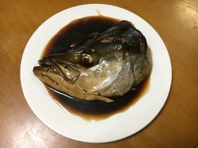 ブリのアラ煮