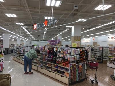 イズミヤ堅田店の向かいのショッピングモールに開店した108円ショップCanDo