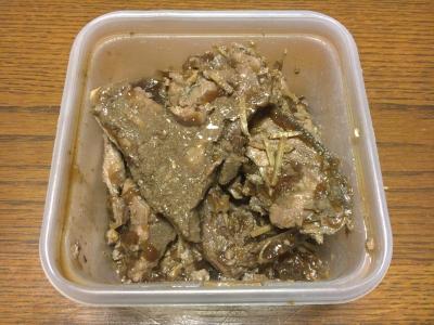カツオのアラ煮