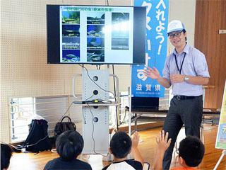 守山市の「訪問環境学習講座」