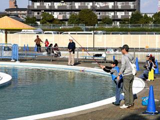 11月1日にオープンした岸和田フィッシングパーク