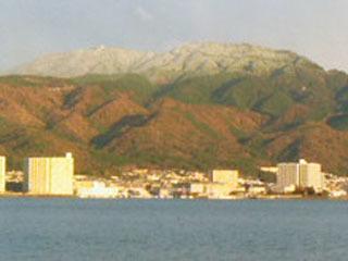 冠雪が本格的になった比叡山